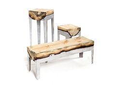 Wood casting #set