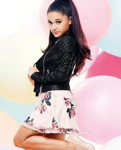 Ariana Grande Quilted Design Leather Jacket (4)