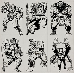 Jack Kirby characters