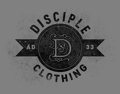 Disciple Clothing interview – Graphic design tutorials, freebies, & advice by working artists and designers. | GoMediaZine #logotype #retro