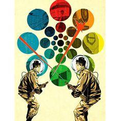 Color Forecasting #coburn #retro #illustration #zap #tavis