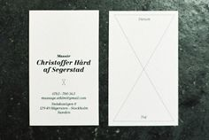 Christoffer Hård : dominic rechsteiner #print