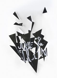 june_01.jpg (640×873) #geometry #white #black #chalk #quercia #jay #triangle #handmade #and #type