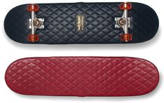 Vadderad skateboard | Tjock / Garaget #skateboard #leather