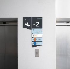 Wayfinding | Signage | Sign | Design | 韦尔苏瓦中心