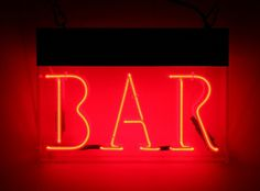Neon Circus + neon sign prop rental - neon signs to hire - neon sign rental #sign #bar #red #neon