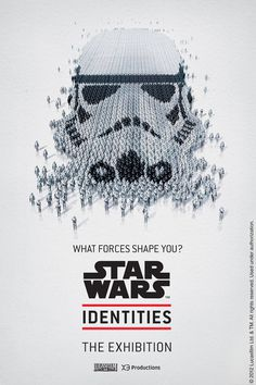 The Star Wars Identities exhibit is fast... | Rampaged Reality #poster #star wars