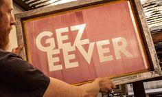Tarieven van Gezeever open zeefdruk werkplaats Antwerpen | Gezeever