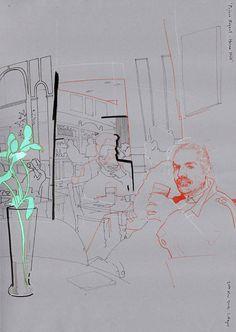 lynd1 #lyndon #hayes #line #hand #drawn