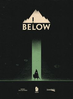 Superbrothers HQ the latest #below #capy #ilustration #poster #game