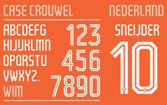 dutch_home #numbers #typeface #netherlands #custom