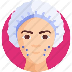 See more icon inspiration related to botox, cosmetic surgery, plastic surgery, healthcare and medical, surgery, towel, beauty, treatment, clinic, user, woman and medical on Flaticon.