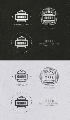 MARK c. #logo #pencil #mark
