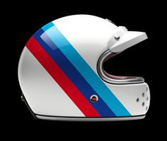 Ruby Munich 90 #bmw #helmet #stripes