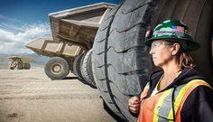 #3 Leeann Johnson, Haul Truck Driver At Round Mountain Gold Mine In Round Mountain, Nevada