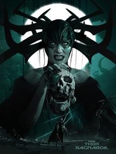 """Marvel's Thor: Ragnarok"" Poster Art by Laz Marquez"