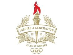 Dribbble - Inspire A Generation by Jason Williams #illustration #olympics #flame