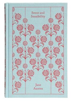Sense and Sensibility | Mod Retro Vintage Books | ModCloth.com #white #red #book #cover #graphics