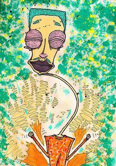 """Shake it"" by Molly Yllom #illustration #character #design"