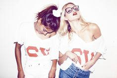 Inspiration for artists from Wildfox Couture - I LOVE WILDFOX - Sweet Valley Fox, Summer 2011 #glasses #photography #wildfox #girls