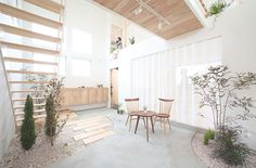 Somewhere I would like to live: Small Japanese Gardens / Kofunaki House #garden #interior #architecture #japan