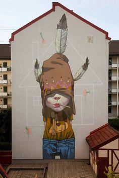 Sainer - Etam #wallpainting #graffiti #mural