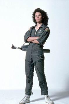 Ellen Louise Ripley. Warrant officer, Nostromo. #fashion #costume