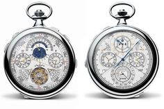 Vacheron Constantin Unveils The Most Complicated Watch Ever Made #VacheronConstantin #57260 #pocketwatch