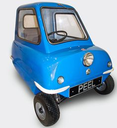 Peel P50 Car #tech #amazing #modern #innovation #design #futuristic #gadget #ideas #craft #illustration #industrial #concept #art #cool