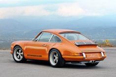 Retro Styled 2011 Singer Porsche 911 2