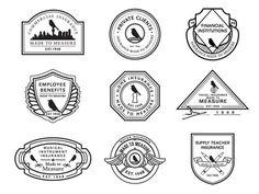 Lark Branding #badges #branding