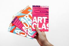 MoMA Teens Mailer - The Department of Advertising and Graphic Design