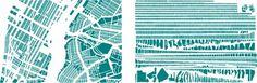 armelle caron - images - tout bien rangé #diagram #map #cartography #architecture #york #new
