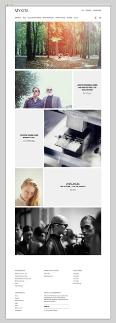 MYKITA #website #layout #design #web