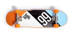 Buddy Carr Skateboards #illustration #skate #orange #typography