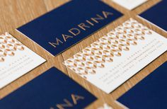 Branding, Typography, Logo, Madrina, Business Card, Layout, Collateral, Identity