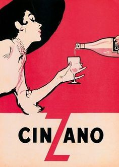 cinzano.jpg (356×500) #illustration #poster