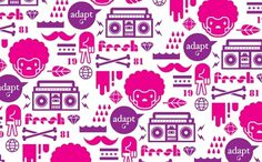 Adapt-Studio, Inc. #bright #pattern #design #graphic #illustration #studio #adapt
