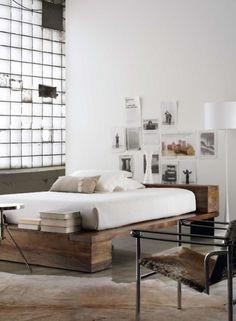 Koolandkreativ #bed #interior #grain