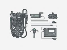 Ghostbusters Gear #illustration