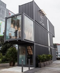 napoleonfour #modern #container #office #building #architecture