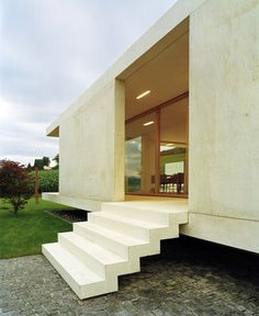 Concrete One-story House