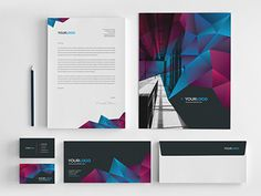 Cool Modern Stationery. Download here: http://graphicriver.net/item/cool-modern-stationery-pack/7765998?ref=abradesign