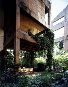 Garden and house integration #architecture