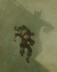 Badda!Badda!Badda!!... Batman art by Craig Davison #run #boy #knight #batman #comic #bat #art #dark #shadow