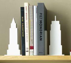 Skyline Bookends #office #gadget #home