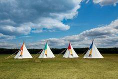 tumblr_lpqv5u864l1qzoaqio4_r1_500.jpg (500×333) #tents #teepee #camping #festival