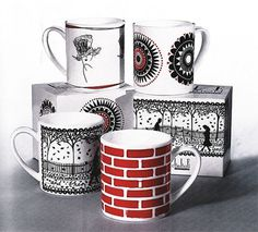 Sanna Annukka: News #mugs #illustration #folk #art