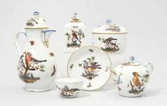 Coffee and tea service, Meissen #porcelain