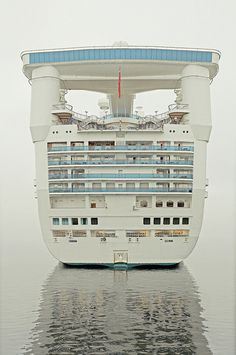 there was rain. #water #muted #cruise #ship #photography #boat